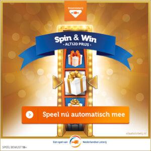Spin en win mooie prijzen