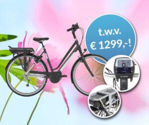 Win een elektrische fiets