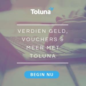 Verdien gratis bonnen en geld bij Toluna
