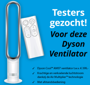 Testen en houden: Gratis Dyson Ventilator