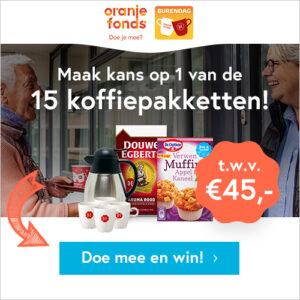 Win een gratis Douwe Egberts koffiepakket!