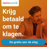Verdien €150 met klagen bij Opinieland