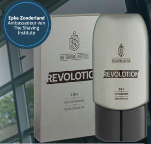 Probeer gratis scheerlotion van The Shaving Institute