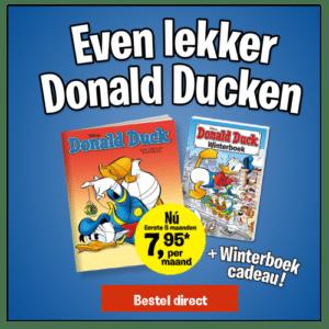 Ontvang een gratis winterboek bij Donald Duck