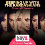 Kijk een gratis maand series op Hayu.