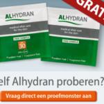 Ontvang een gratis proefmonster Alhydran