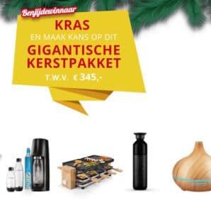 Kras en win een gratis kerstpakket