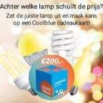 Gratis kans op een Coolblue cadeaukaart