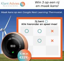 Maak kans op een gratis Google Thermostaat