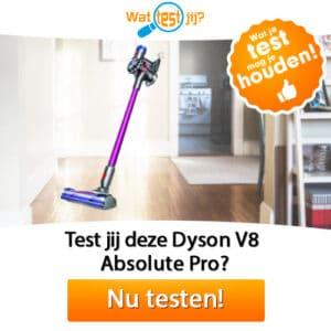 Test en houd een gratis Dyson stofzuiger