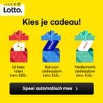 Kies een gratis cadeabon van Mediamarkt of Bol of gratis loten