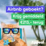 Laat Appeal gratis je geld terughalen bij Airbnb
