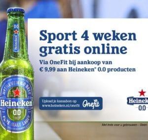 Ga gratis online sporten bij OneFit