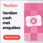 Verdien gratis geld met YouGov