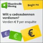 Verdien €7 per enquête met je mening
