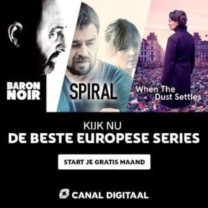 Kijk een gratis maand Canal Digitaal