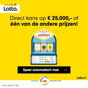 Win gratis Lotto loten of een geldbedrag