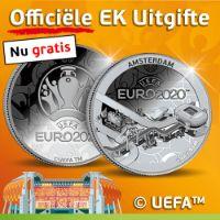 Ontvang een gratis officiële EURO 2020 munt