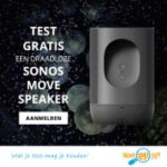 Test gratis een Sonos Move Speaker