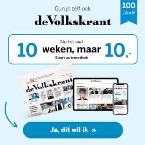 Lees 10 weken volkskrant voor €10