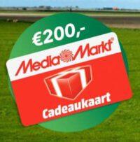 Win een gratis Mediamarkt cadeaukaart