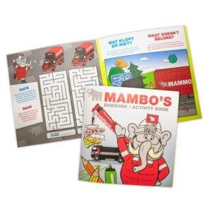 Ontvang een gratis doeboek van de Mammoet Kids Club