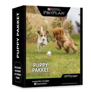 Ontvang gratis hondenvoer in het purina puppypakket