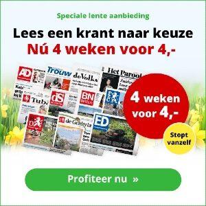 4 keer krant voor maar 4 euro