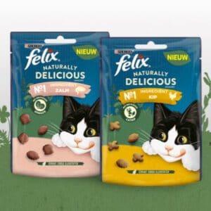 Probeer gratis FELIX Naturally Delicious snacks