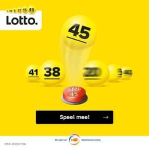Maak gratis kans op €4.500 met spelletje stop45