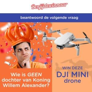 win een gratis mini drone