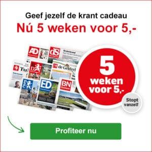 lees gratis 5 weken de krant