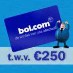gratis kans op een Bol.com cadeaubon van €250