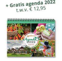 ontvang een gratis landleven agenda 2022