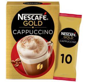 probeer gratis nescafé gold cappuccino